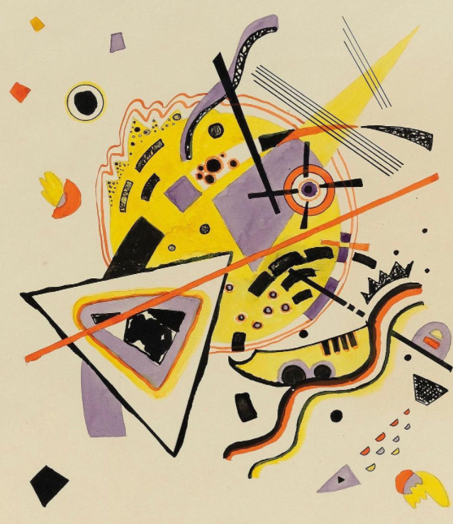 """Untitled"" by Wassily Kandinsky."