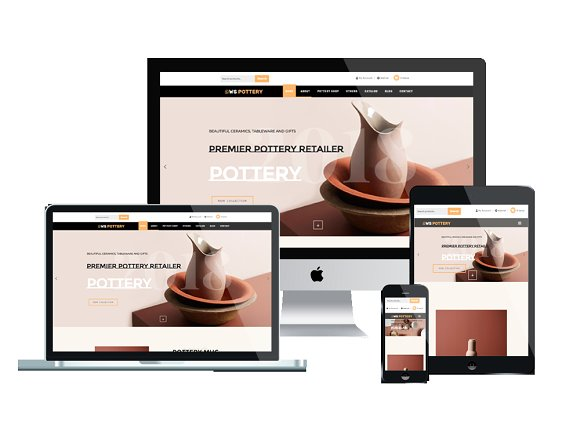 woocommerce design - Pottery Responsive download
