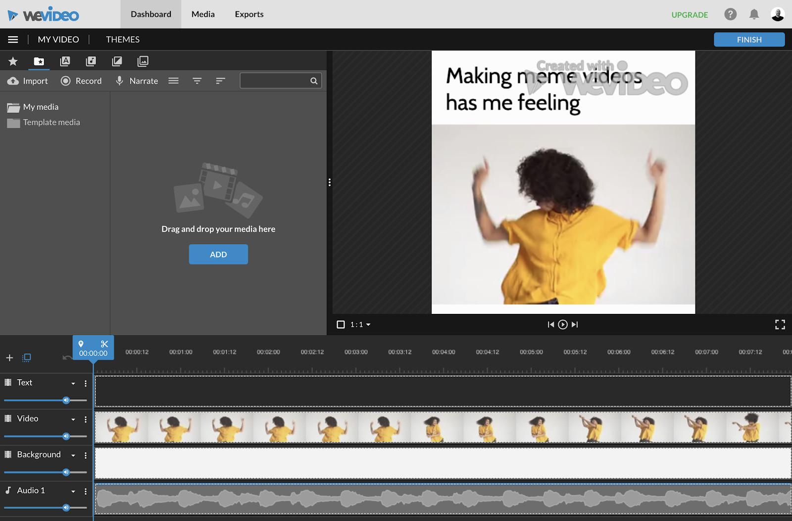 Trình chỉnh sửa WeVideo