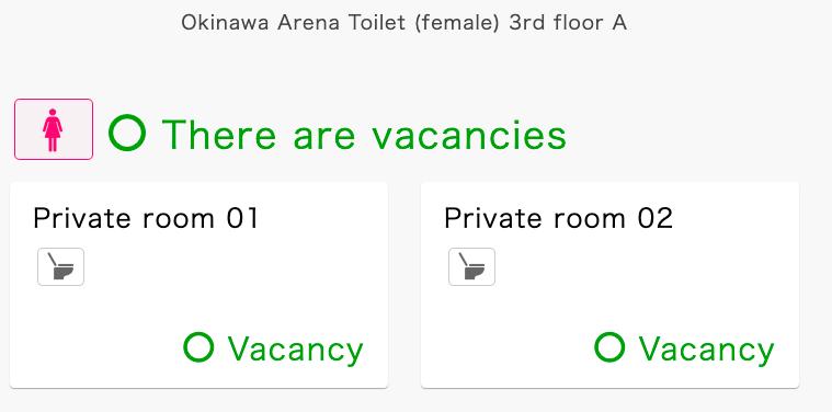 Okinawa Arena Wait Time Tracking Solution