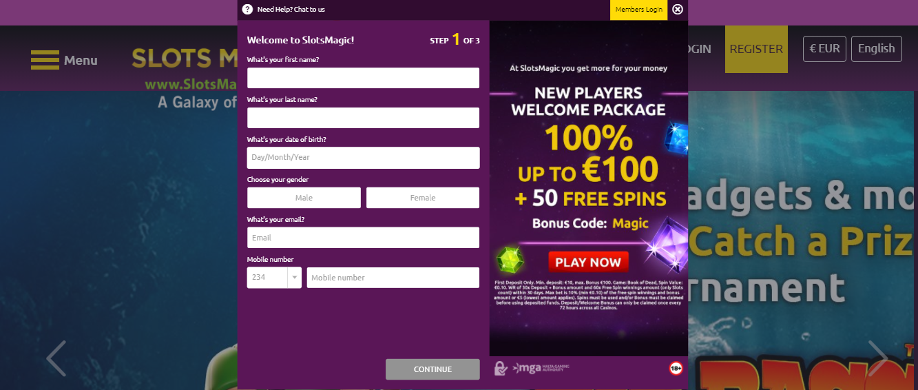 Getting Started on Slots Magic