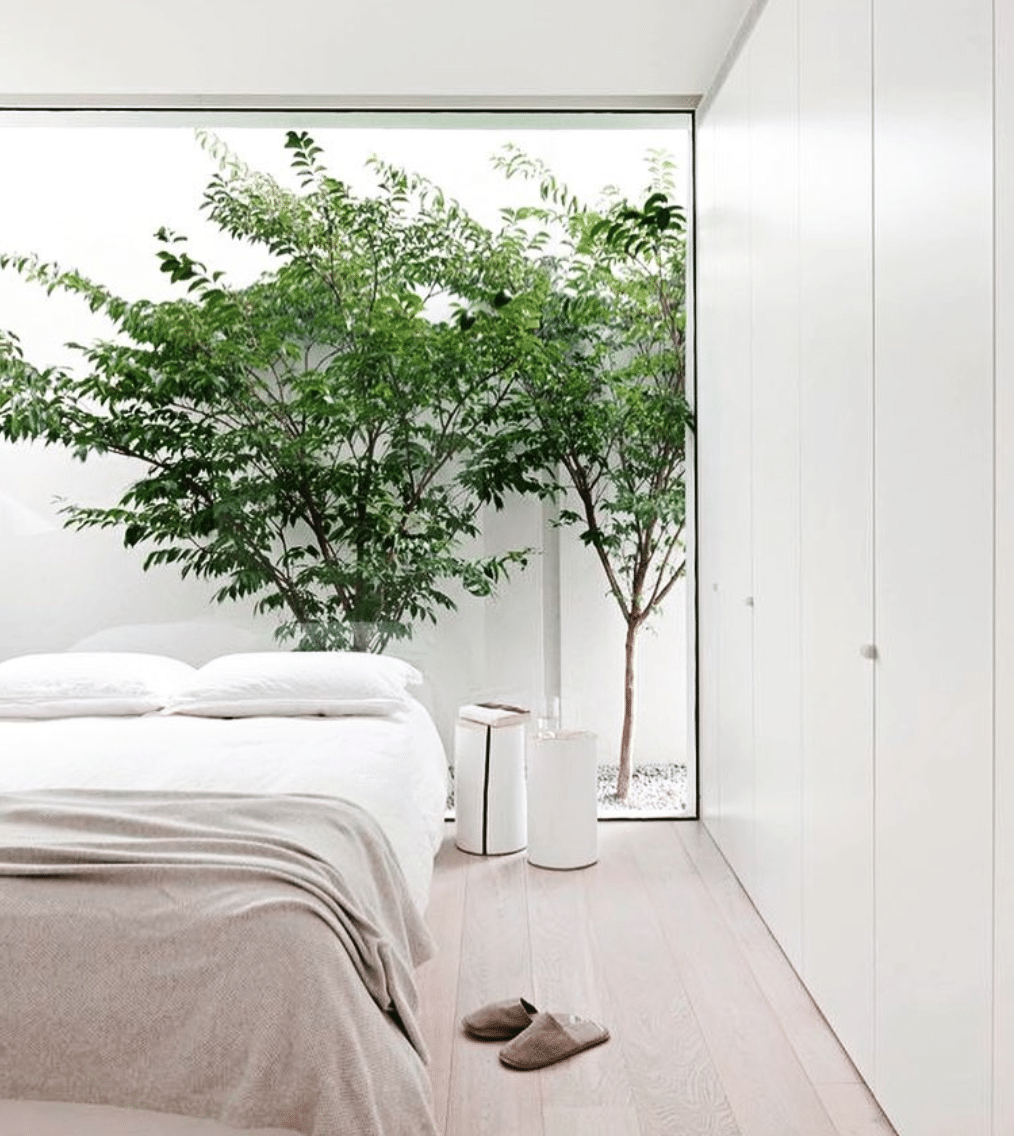 Make A Garden Behind Your Bed