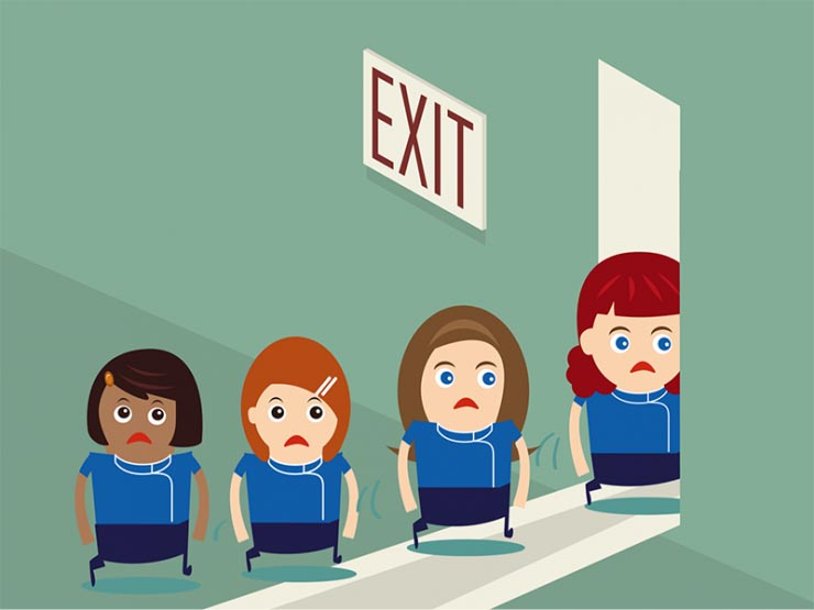 Reduced employee turnover