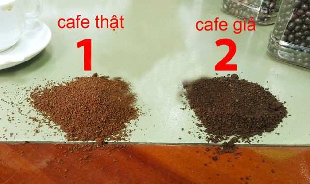 Cần kiểm tra bột cà phê kỹ lưỡng để đảm bảo mua được sản phẩm đạt chuẩn chất lượng