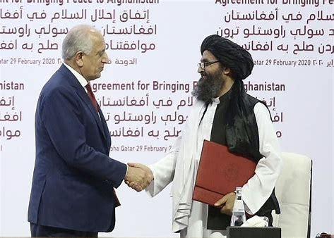 Image result for us peace treaty with taliban