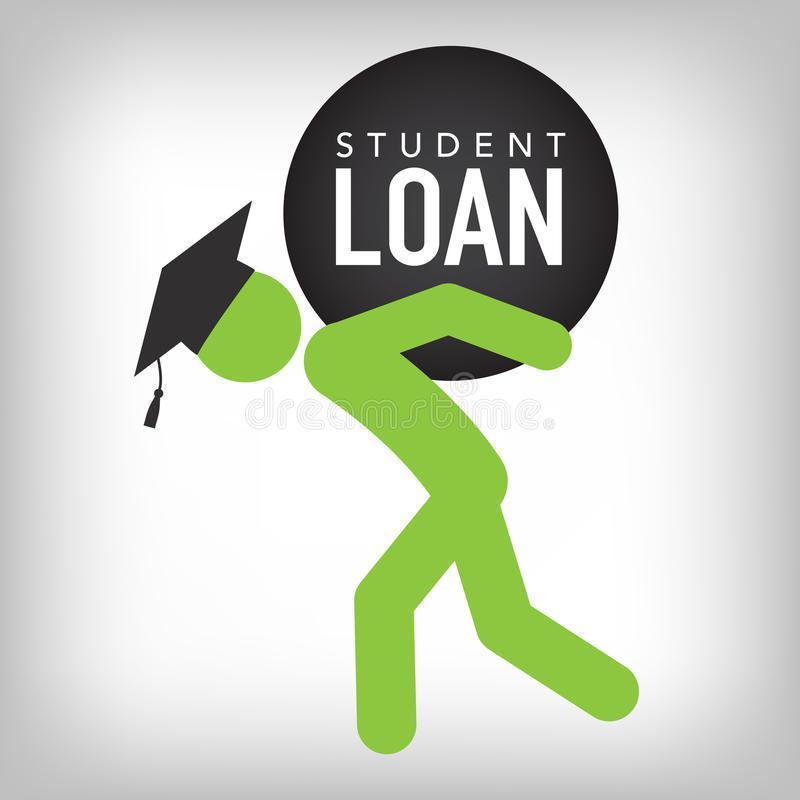 Gediplomeerde Student Loan Icon - Student Loan Graphics Voor ...