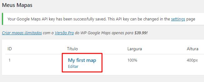 como colocar Google Maps no WordPress