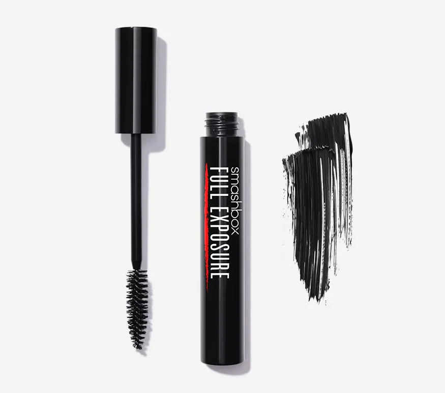 Smashbox Full Exposure fiber mascara in jet black