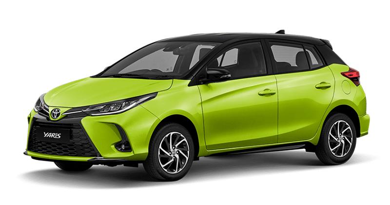 ดีไซน์ภายนอกรถยนต์ : Toyota Yaris 2020