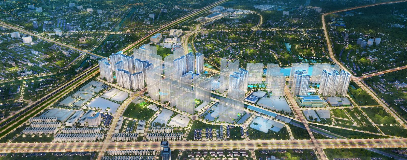 """Vinhomes Smart City tọa lạc tại vị trí """"vàng"""""""