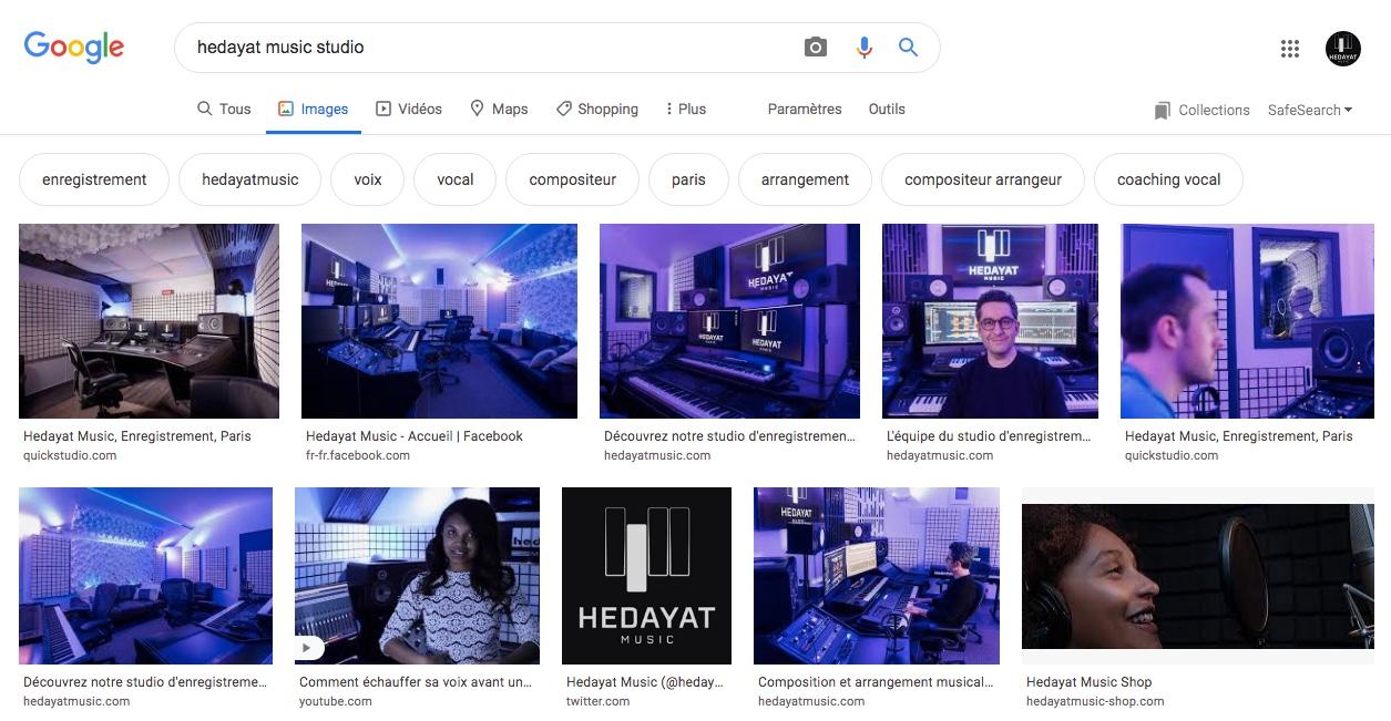 recherches Hedayat Music