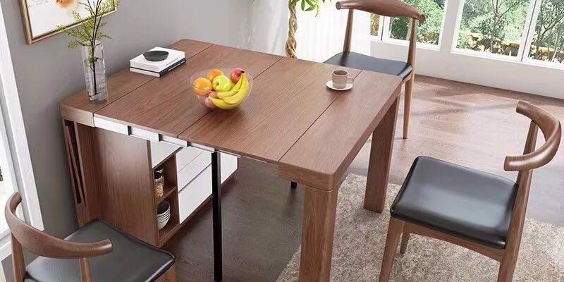 Thay đổi kích cỡ tùy ý với bàn xếp đa năng