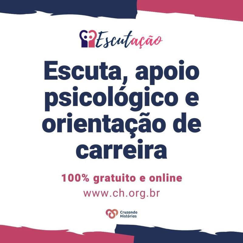 Apoio psicológico gratuito