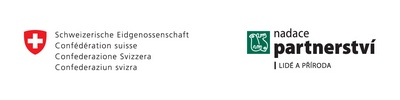 swiss contribution and Nadace Partnerstvi logo