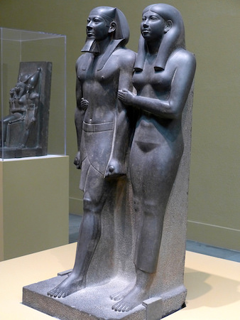 King Menkaure and Queen.