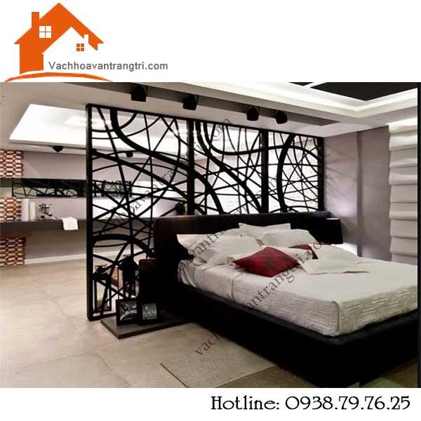 Các loại vách ngăn trang trí phòng ngủ thông dụng nhất.