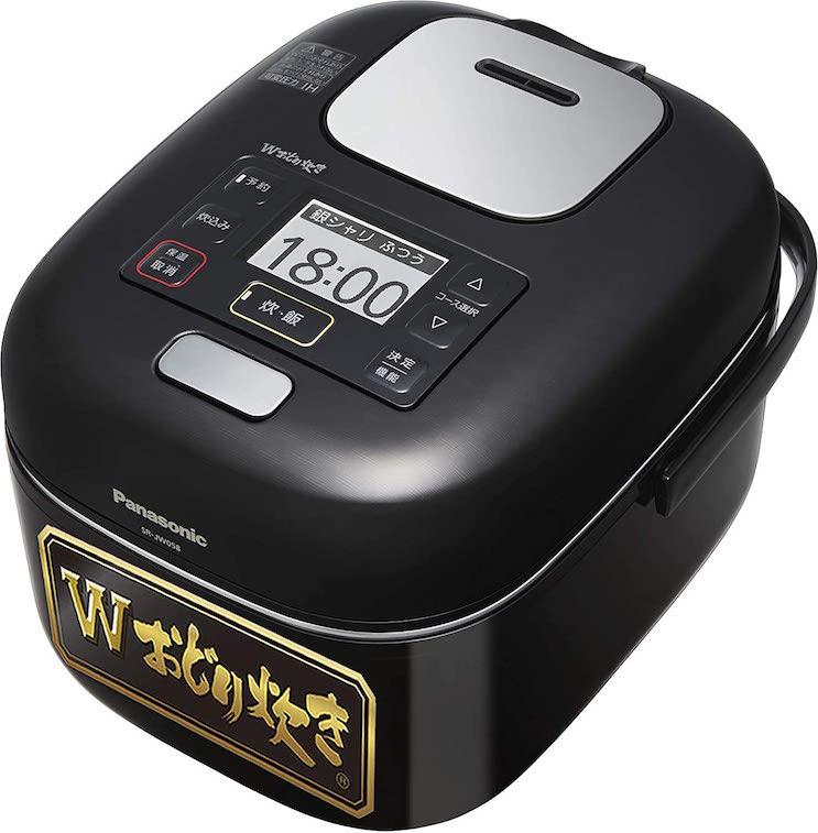 パナソニック炊飯器3合Wおどり炊き