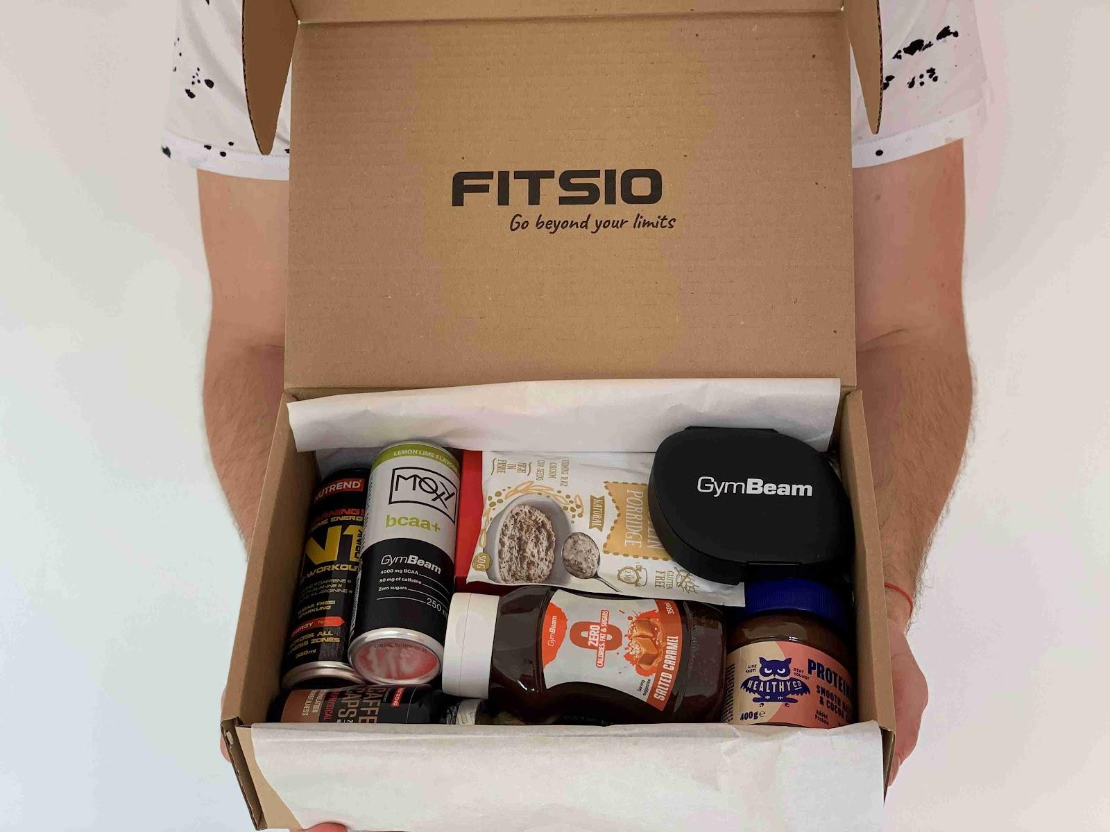 Recenze Fitsio.cz: Měsíční fitness box pro muže