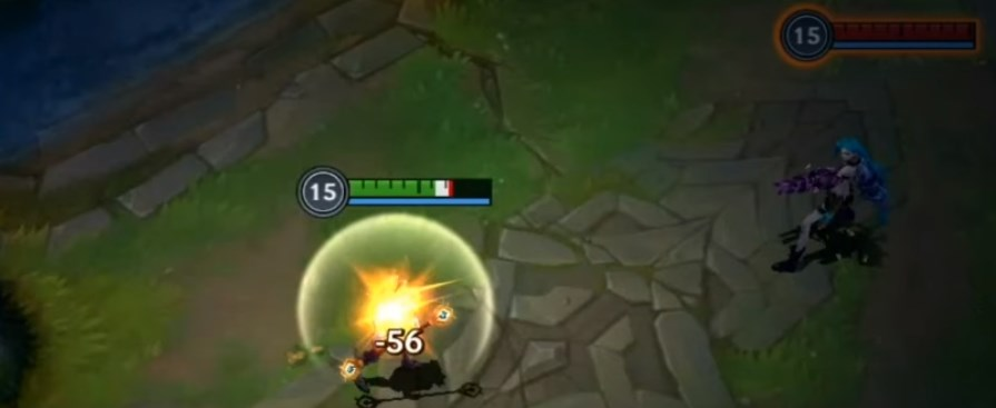 Lux using Barrier