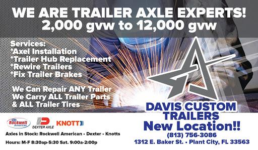 Davis Custom Trailers - Trailer parts