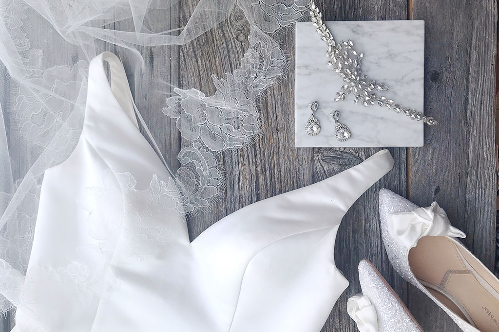 Accessory inspiration for our Classic Bride