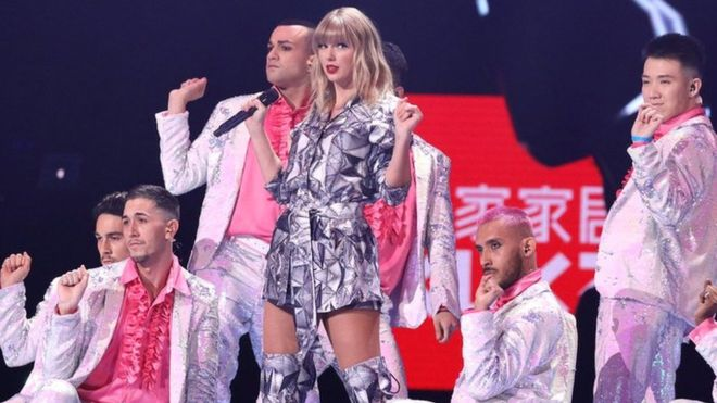 Taylor Swift Tmall Double 11 Shopping Festival Gala