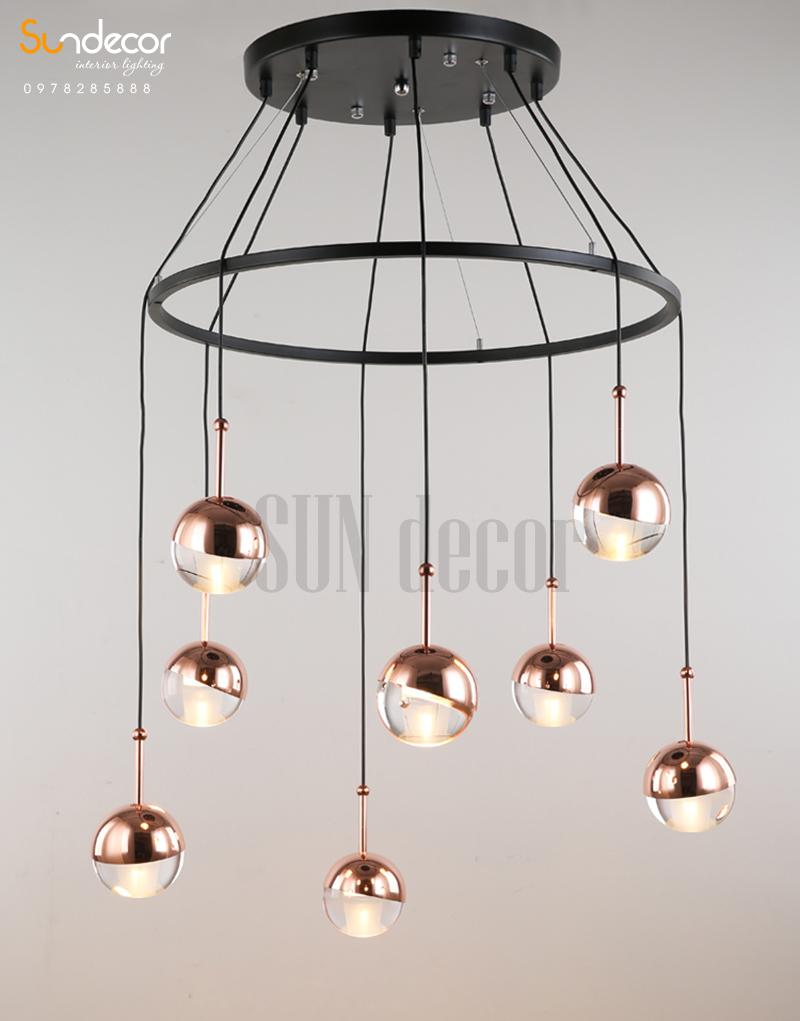 Đèn Thả Trần Cao Cấp Trang Trí Bàn Ăn - SP001074