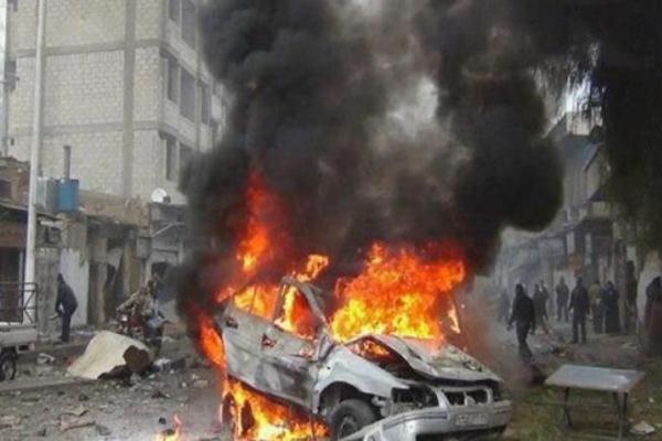 حرائق التفجيرات وسط كركوك