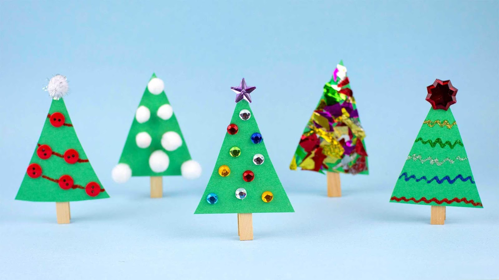 DIY Cloth Christmas Crafts for Kids