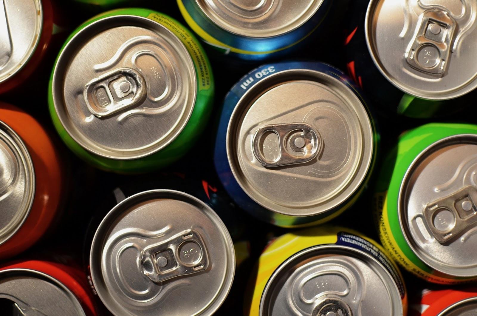 latas de operador vending