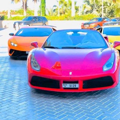 Supercars rental in Dubai