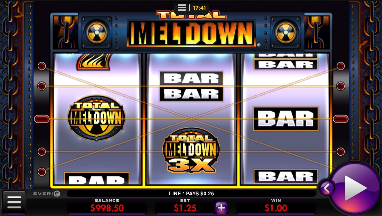 Total Meltdown by Everi online slot casino game