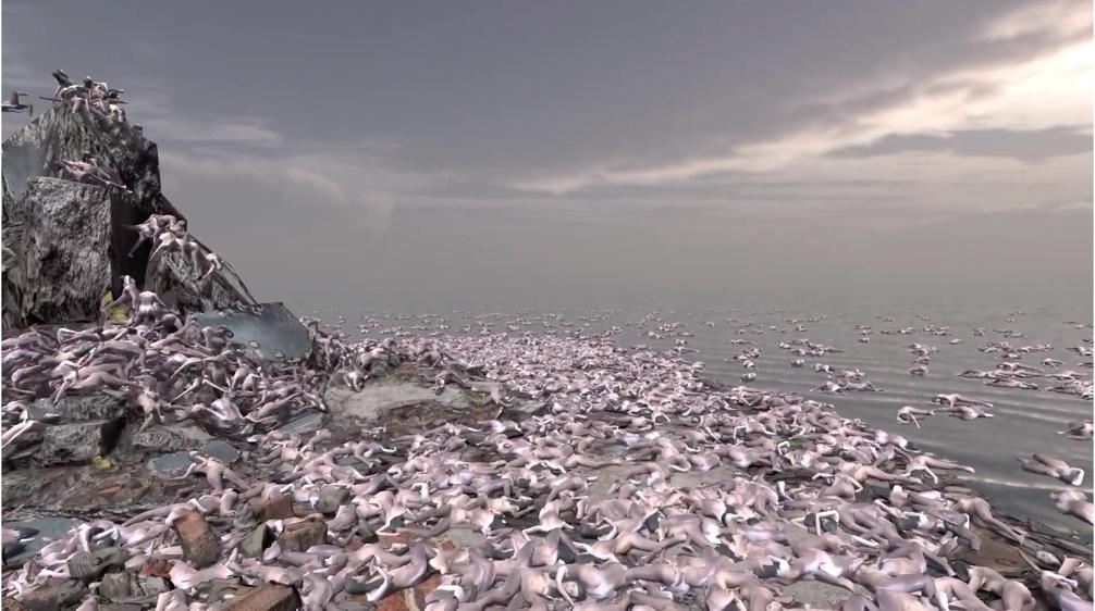 Afbeelding met buiten, lucht, rots, rotsachtig  Automatisch gegenereerde beschrijving