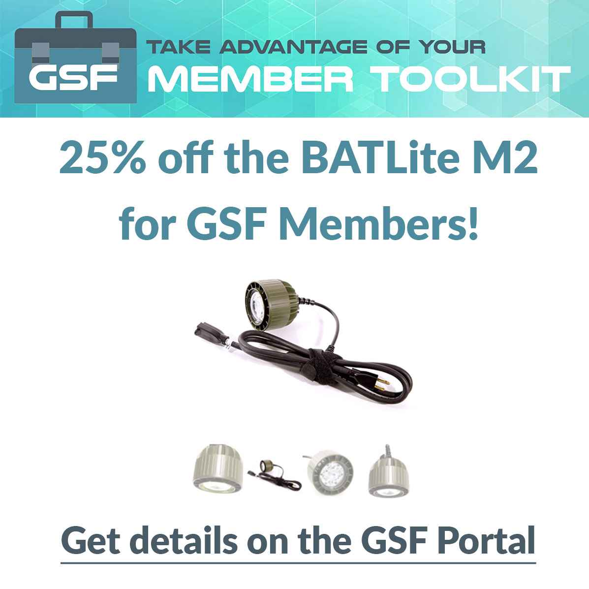 It's here! The new GSF User Portal.