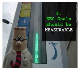 Các mục tiêu SEO có thể đo lường