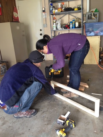 Building our shelves