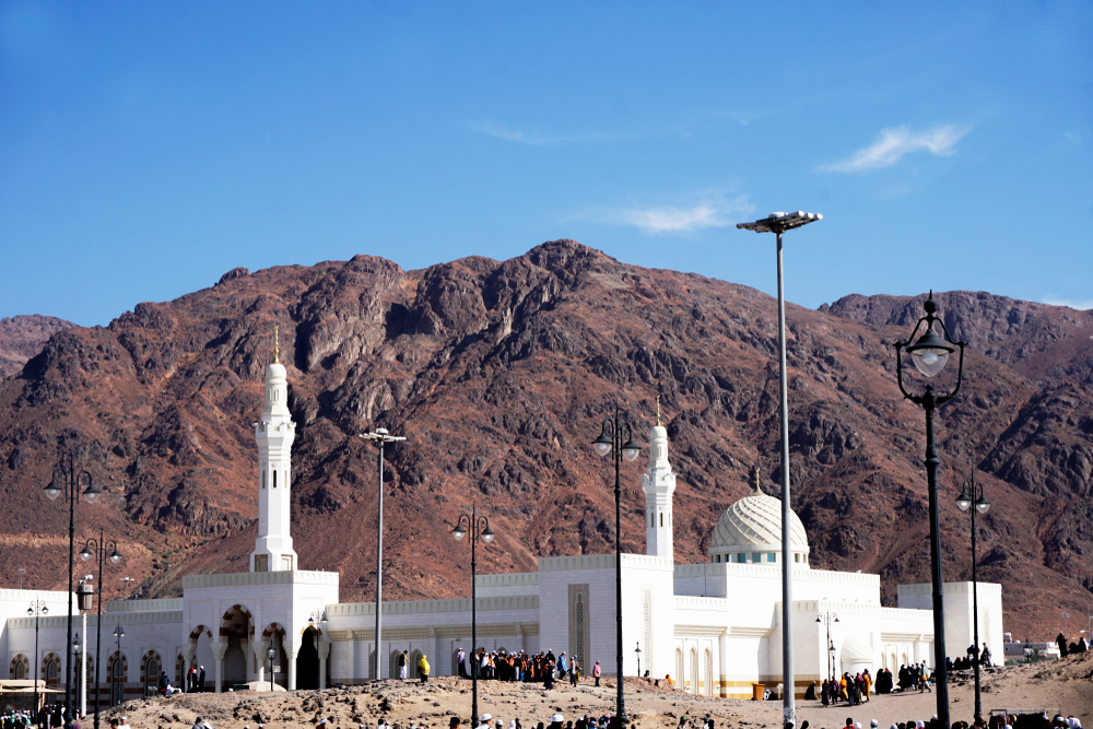Mount Uhud, Battle of Uhud site, Madinah, Saudi Arabia