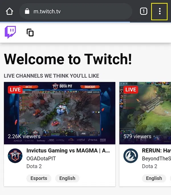 how to change name on twitch
