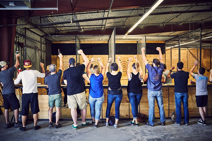 Axe Throwing Clubs In Houston