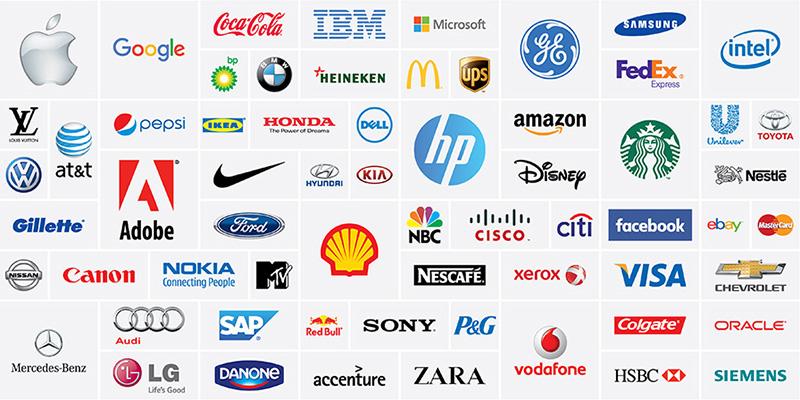 Những logo nổi tiếng trên thế giới