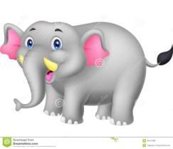 Картинки по запросу слон фото мультик