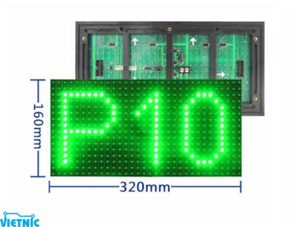 Led module ma trận P10 - xanh