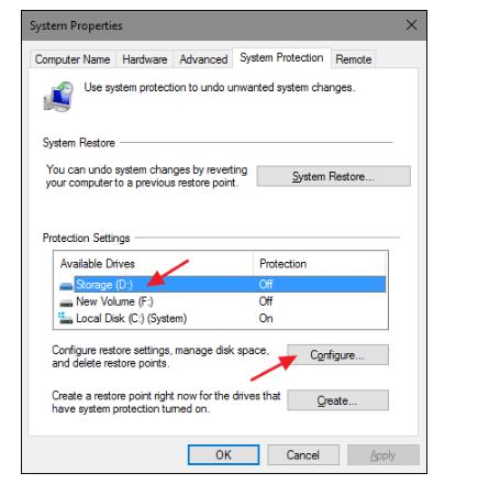 System restore in windows 8/8.1 - Step 8