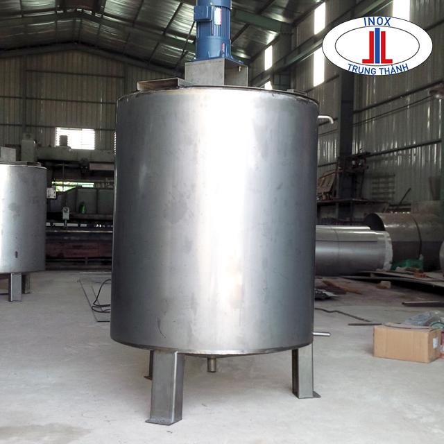 sản xuất bồn inox công nghiệp