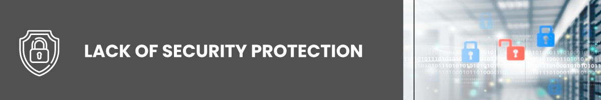 shared hosting Lack of Security Protection