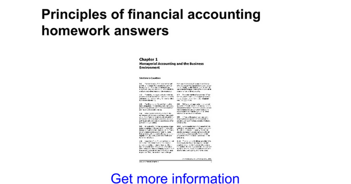 financial accounting seventh edition homework help