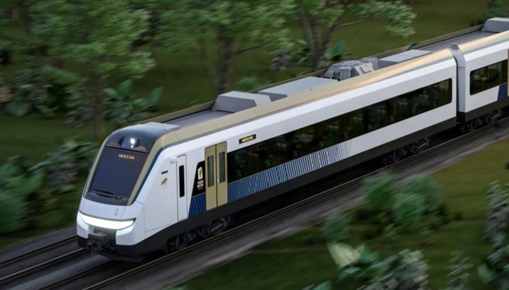 vagones tren maya