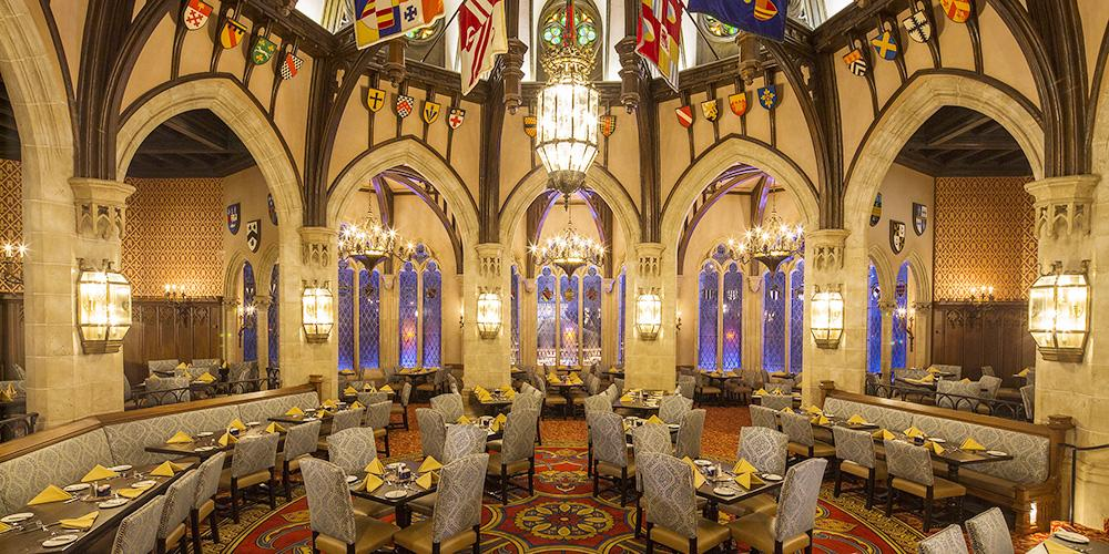 Disney themed restaurants bring you to another world!