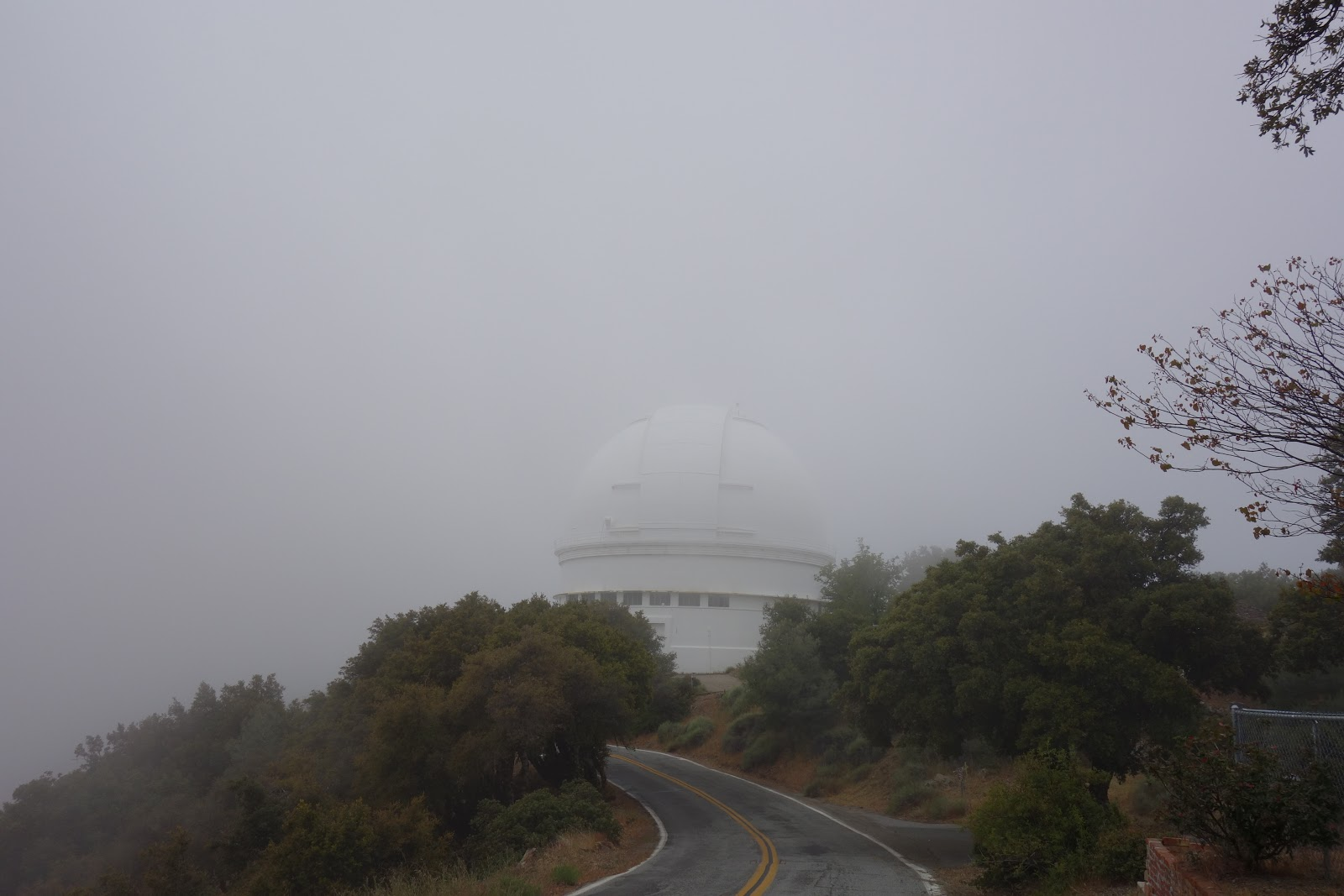 Dome of the Lick Observatory after Mt. Hamilton bike bicycle ride.