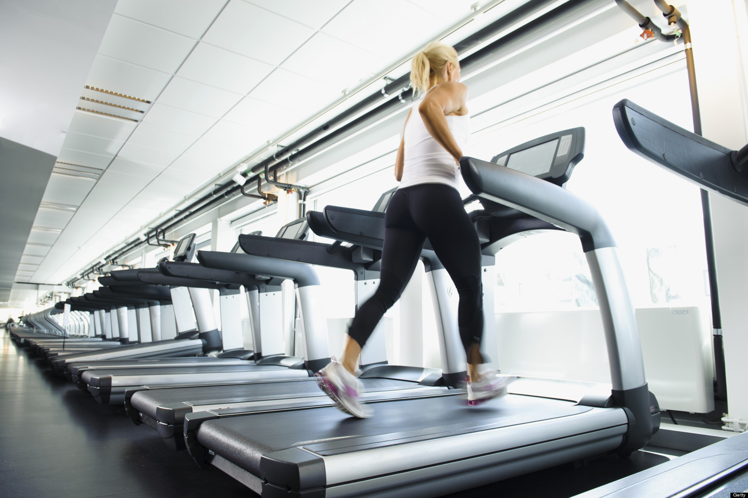 Image result for girl on treadmill